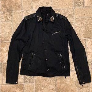 IRO Fabio studded biker jacket